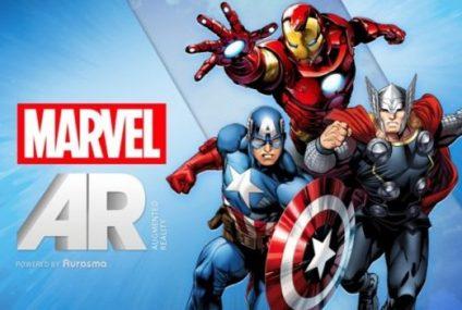Marvel incluye Realidad Aumentada en sus comics