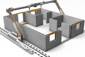 Desarrollan impresora 3D para construir casas en 24 horas
