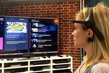 Dispositivo permite controlar la TV con la mente