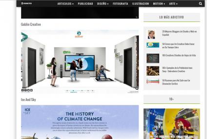 Goblin Creative, sitio creativo de la semana