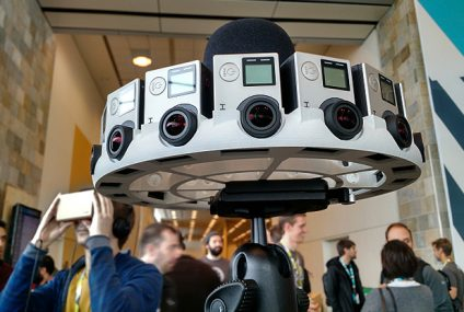 GoPro lanza un equipo de grabación de vídeo de realidad virtual