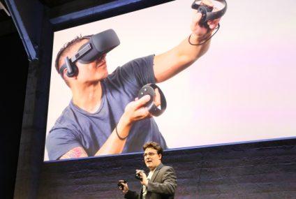 Presentan las gafas de realidad virtual Oculus Rift