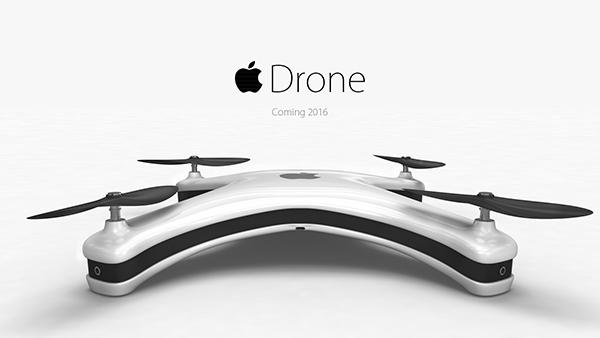 El Apple Drone no existe, no por el momento, es tan solo un concepto creado por el diseñador gráfico Eric Huismann