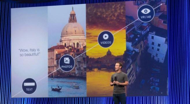 Facebook Inc. planea introducir la Realidad Virtual a móviles