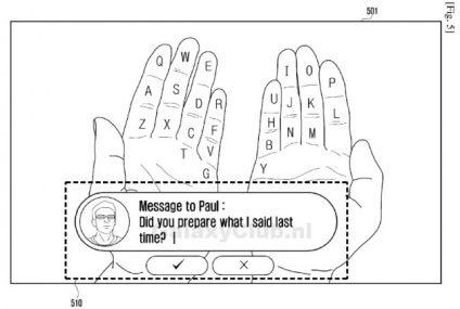 Samsung lanza patentes de Realidad Aumentada