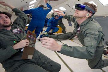 Auriculares de realidad aumentada para los astronautas