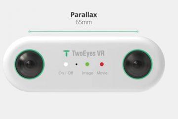 TwoEyes VR: una cámara con 2 lentes que imita a los ojos humanos revoluciona la fotografía