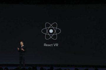 Facebook lanza React VR para impulsar el Desarrollo Web para VR