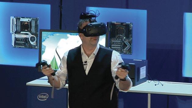 Solución inalámbrica de Intel para el HTC Vive