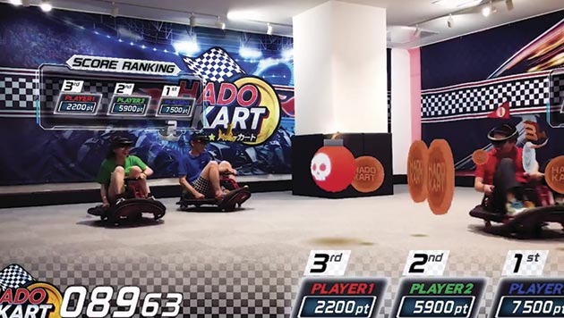 Hado Kart en VR