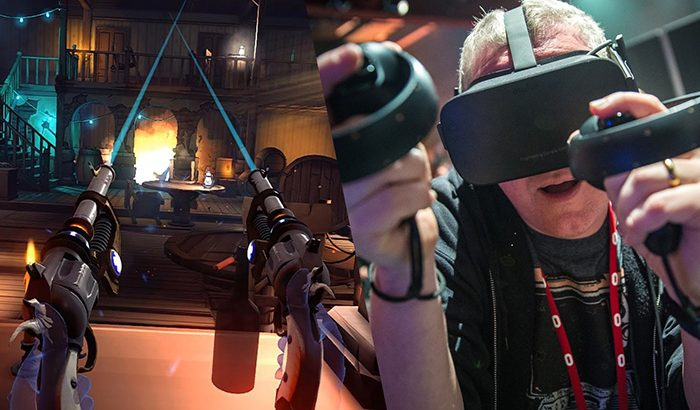 Realidad virtual, Oculus Touch